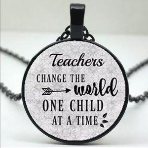Jewelry - Teacher Necklace